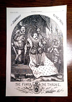 THE TAMMANY KINGDOM. The Power of Behind the Throne: He Cannot Call his Soul his Own