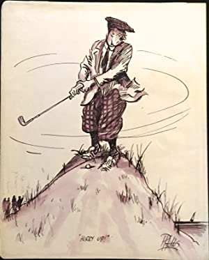 Eight Amusing Cartoons of Golfers