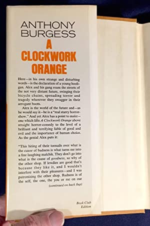 A CLOCKWORK ORANGE; With an Afterword and Glossary by ...