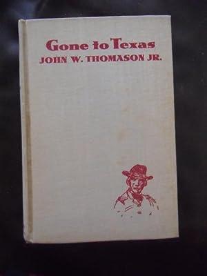 Gone To Texas: John W. Thomason, Jr.
