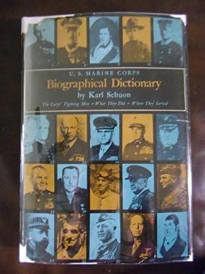 U.S. Marine Corps Biographical Dictionary: Karl Schuon, Earl Smith