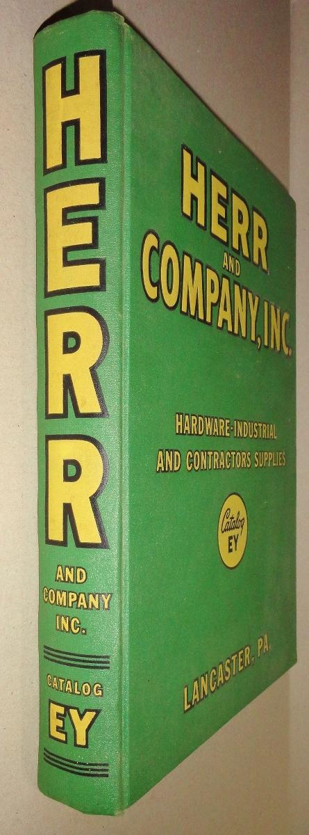 Herr and Company [Trade Catalog] Hardware -