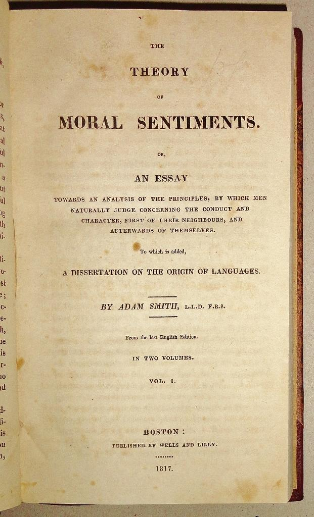 theory of moral sentiments gutenberg