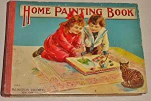 Home Painting Book for Young People : Easy Lessons in Drawing and Painting: Weir, Harrison and ...