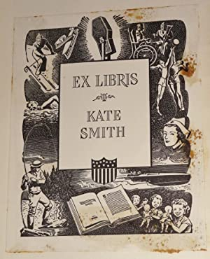 Sherwood Anderson's Memoirs; [Kate Smith's copy, with her pictorial bookplate]: Anderson,...