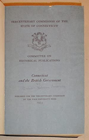 Set of Issues # 1 - 40: Tercentenary Commission of the State of Connecticut Committee on Historical...