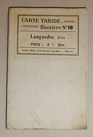 Carte Taride, Routiere No. 19; Languedoc (Ouest) Causses: Carte Taride