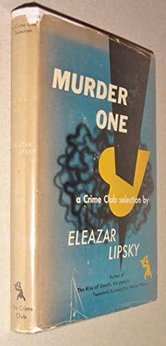 Murder One: Lipsky, Eleazar