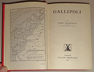 Gallipoli: Masefield, John