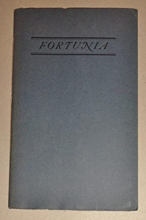 Fortunia, A Tale . Translated & Adapted: Aulnoy, Marie-Catherine, Comtesse
