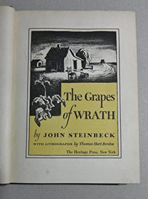 The Grapes Of Wrath; With Lithographs By Thomas Hart Benton. [Signed by Henry Fonda]: Steinbeck, ...