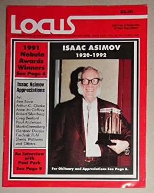 Locus Magazine; The Newspaper Of The Science Fiction Field; Issue 376 - May 1992: Isaac Asimov (O...
