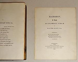 Marmion, Tale Of Flodden Field: Scott, Sir Walter