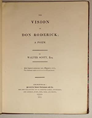 The Vision of Don Roderick; A Poem.