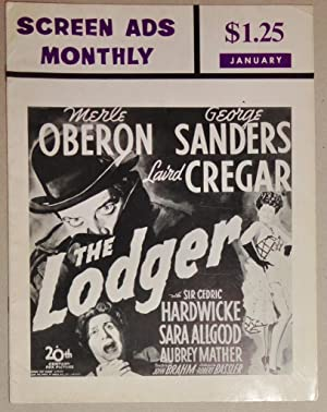 Screen Ads Monthly: Vol. 1 No. 4 January, 1968: Barbour, Alan G. (Editor)