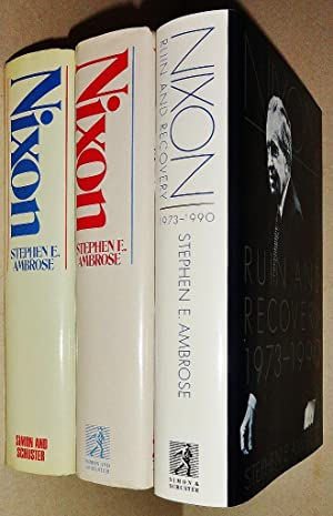 Nixon [3 Volumes Complete] : The Education of a Politician 1913-1962, The Triumph of a Politician...