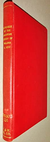 Catalogue of the American Library of the Late Dr. William H. Egle of Harrisburg