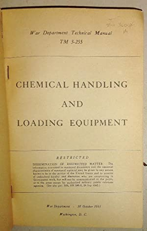 Chemical Handling and Loading Equipment. TM 3-255. Restricted.
