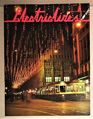 Electric Lines; The Magazine of Electric Transportation. Volume I, No. 7: November - December 1988