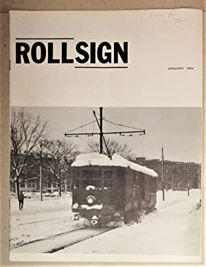 Rollsign [Journal] - Boston Street Railway Association [8 Issues] Vol 6, 1969