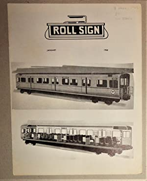 Rollsign [Journal] - Boston Street Railway Association [7 Issues] 1968