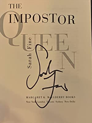The Impostor Queen - [with] SIGNED promotional card for