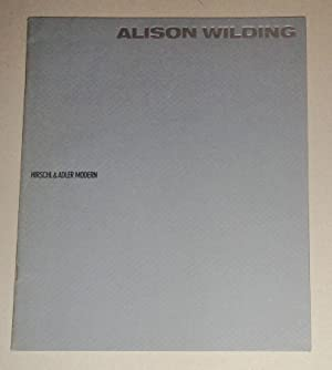 Alison Wilding, April 1-22, 1989.: Wilding, Alison
