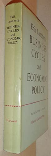 Business Cycles and Economic Policy: Lundberg, Erik