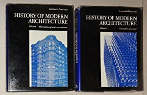 History of Modern Architecture--2 Volumes: Benevolo, Leonardo