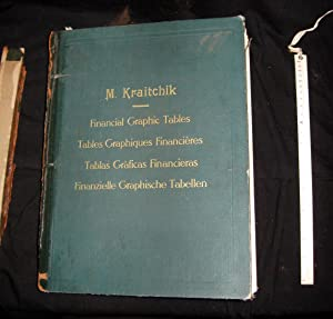 Financial graphic tables: Kraitchik, Maurice