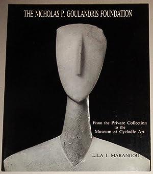 The Nicholas P. Goulandris Foundation From the: Marangou, Lila I.