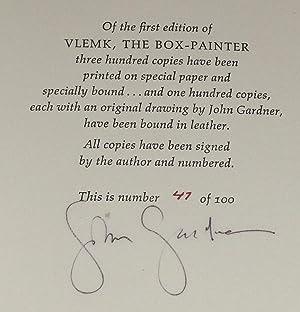 Vlemk the Box-Painter: Gardner, John; Catherine Kanner, (Illus. )