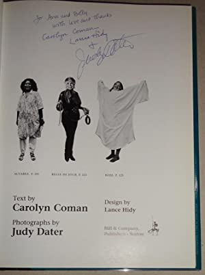 Body and Soul; Ten American Women: Coman, Carolyn and Judy Dater (Photogrpahy) and Lance Hidy (...