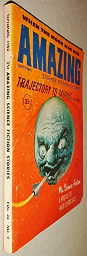 Amazing Science Fiction Stories; Vol 34 No 9: September 1960