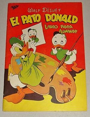 El Pato Donald; Libro Para Iluminar: Disney, Walt