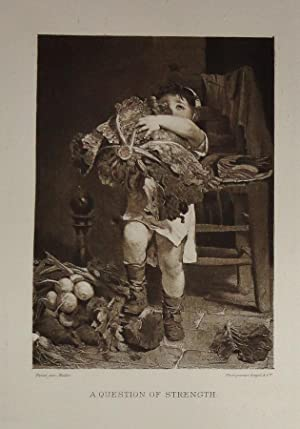 Parisian Photogravures, Reproduced from the Great Modern Paintings of the Paris Salon with ...