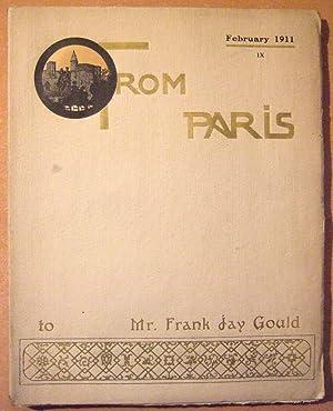 From Paris N° IX (fevrier 1911): Collectif