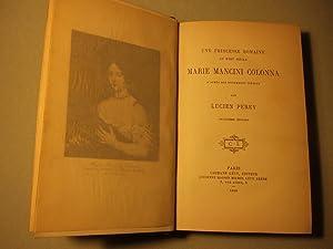 Marie Mancini Colonna: Perey (lucien)