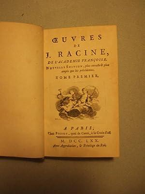 Oeuvres: Racine (jean)