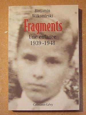 Fragments - une enfance 1939-1948: WILKOMIRSKI (Binjamin)