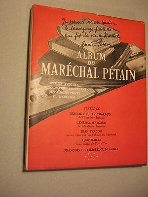 Album Du Marechal Petain: Collectif