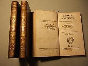 Lettres Vendeennes Ou Correspondance De Trois Amis En 1823: Walsh (vicomte )