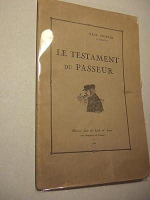 Le Testament Du Passeur: Poirier (rene)