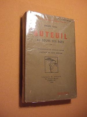 Auteuil Au Cours Des Ages: Fayol(amedee)