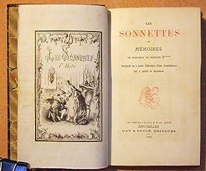 Les sonnettes ou Mémoires de Monsieur le Marquis D'***. Auxquels on a joint l'...