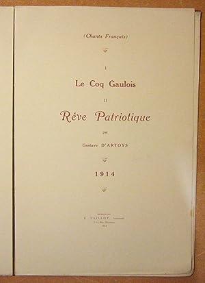 Quelques Chants Francais 1914 - 1915: Gustave D'artoys