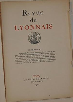 Revue du Lyonnais (VI): Collectif