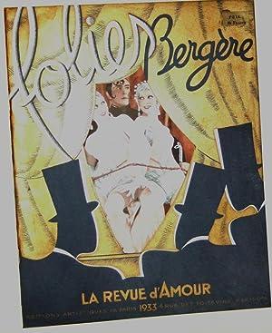 La Revue d'amour 1933: Folies Bergeres