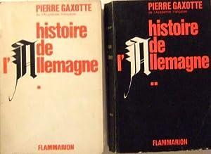 Histoire de l'allemagne: Gaxotte Pierre