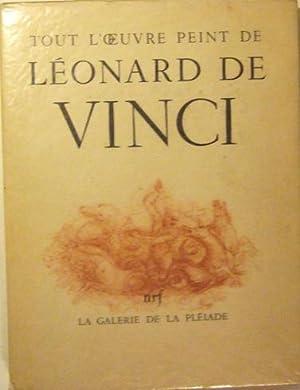 Tout l'oeuvre peint de Léonard de Vinci: Collectif